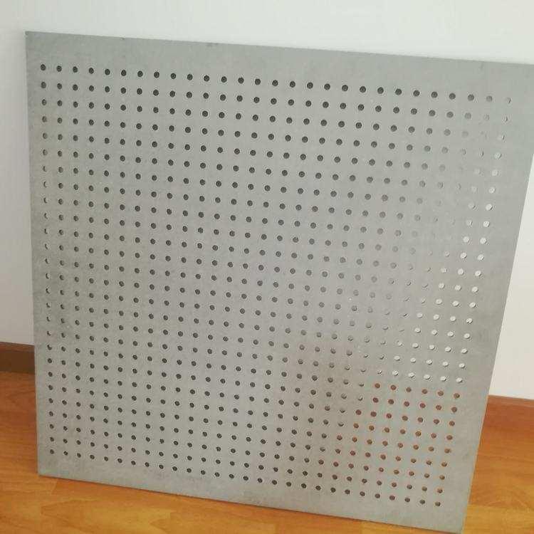 10mm孔径穿孔硅酸钙板
